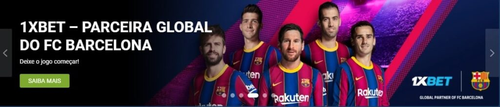 1xbet + Barcelona